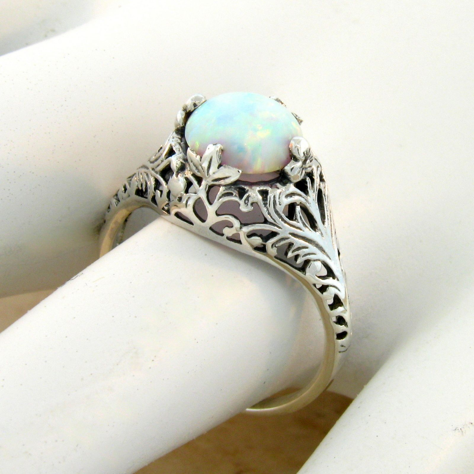 Image Result For Opal Wedding Rings
