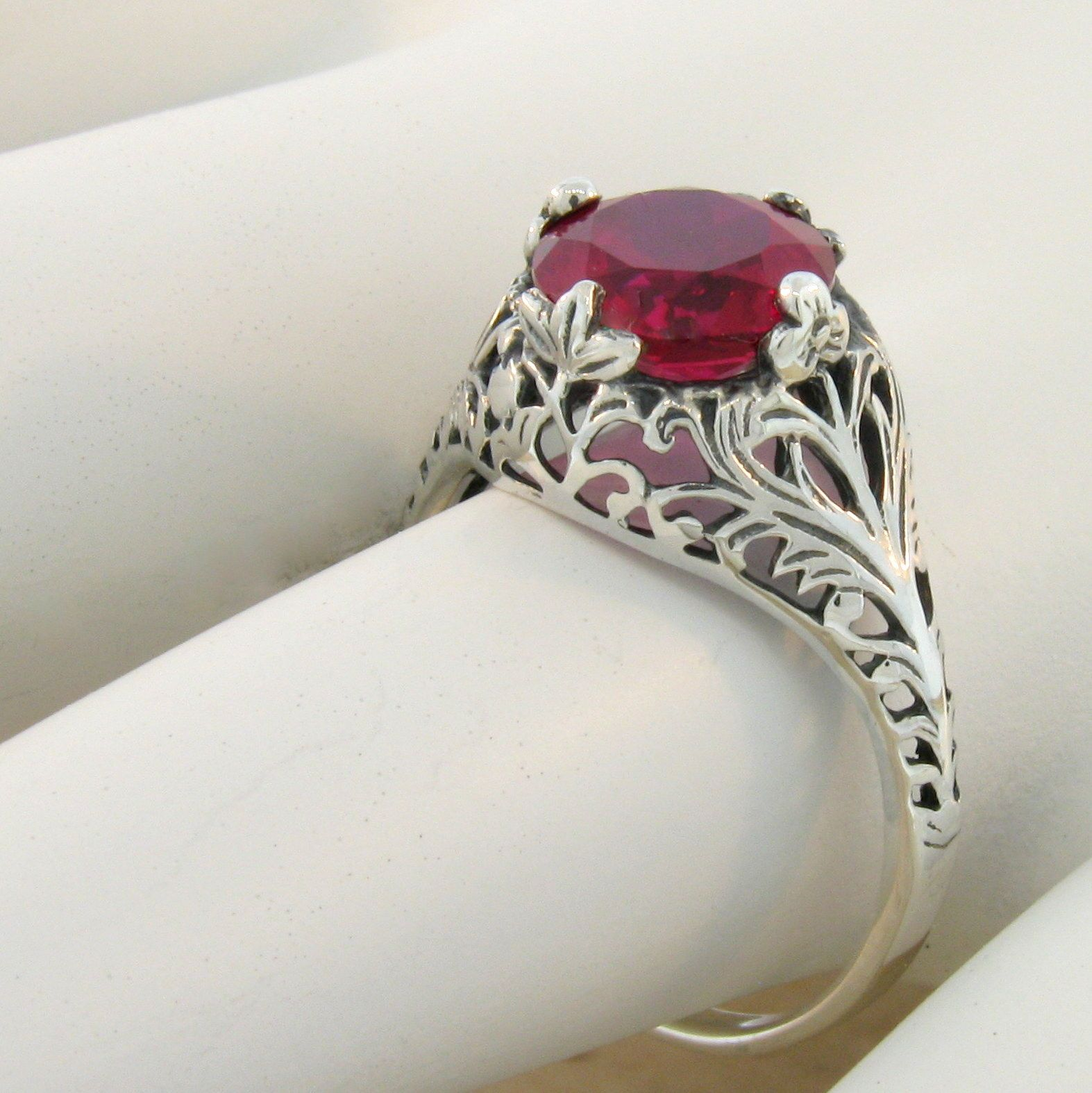 hand ruby cut jewellery jewelry ring gold hammered engagement scott in il yellow fullxfull products rose elizabeth